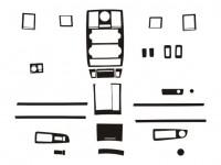 Dash Trim Kit - RHD Citroen C5 I 04-08 with digital A/C & radio RD4