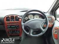 Dash Trim Kit - RHD Ford C-Max I with digital A/C