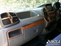 Dash Trim Kit - RHD Ford Fusion 02-05 with 1 DIN or 2 DIN radio